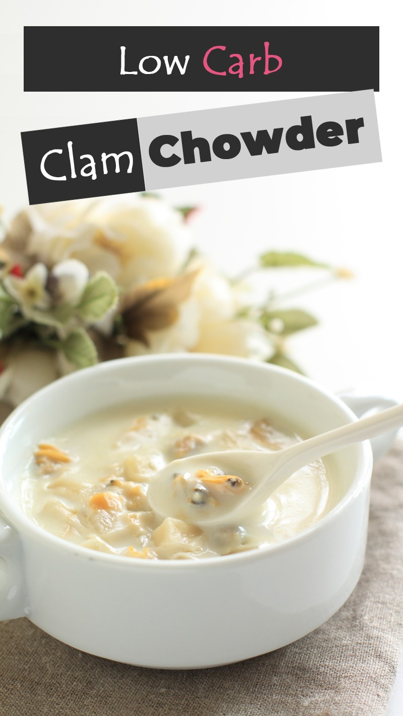 Low Carb Clam Chowder